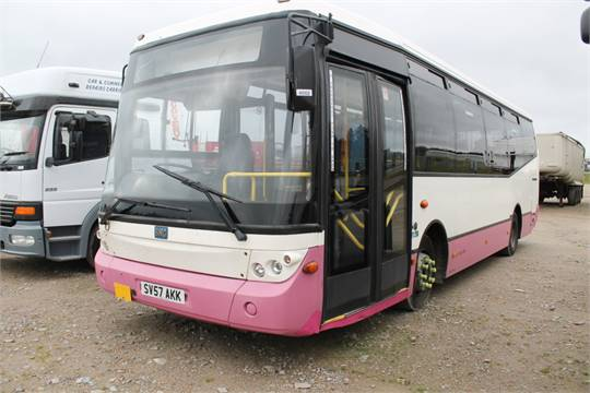 Lot 4002   BMC Hawk   4400cc 1 Door Bus Reg No : SV57AKK D.F.R : 01 Nov 07  Miles / Kms : . Reg Doc