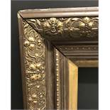 "20th Century English School. A Gilt and Painted Composition Frame, 36"" x 28"" (rebate)."