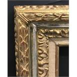 "20th Century English School. A Gilt Composition Frame, with fabric slip, 39.5"" x 32"" (rebate),"