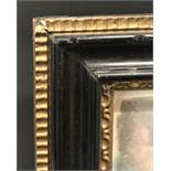 "19th Century English School. A Hogarth Style Gilt Composition and Black Frame, 14.5"" x 10.5"" ("