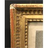 Early 19th Century English School. A Gilt Composition Frame, with inset Lithograph under glass, 12.
