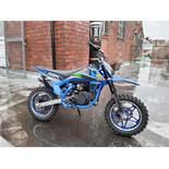 50cc Moto-madness Pit Bike (Blue) No Vat