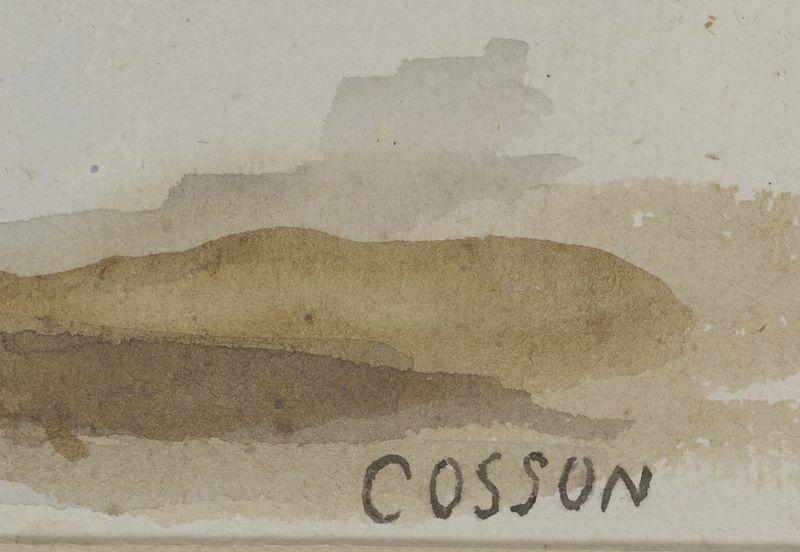 Lot 20 - Marcel COSSON (1878- 1956) - Ballerine - Aquarelle signée ne bas à droite - 30 x [...]