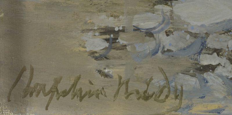 Lot 16 - Roger CHAPELAIN MIDY (1904-1992) - L'Ondine - Huile sur toile signée en bas à [...]