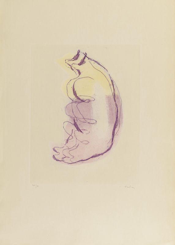 Lot 24 - Jean FAUTRIER (1898- 1964) - Petits torses de femmes - Eau forte et aquatinte en [...]