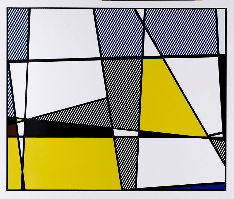 Lot 35 - Roy LICHTENSTEIN (1923-1997) - D'après - Cows going abstract, 1980, 3 offset en [...]