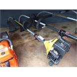 Mcculloch petrol powered bench shaft strimmer