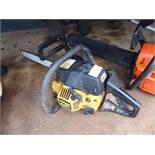 Partner 351 petrol powered chainsaw