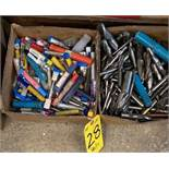 ASSORTED END MILLS