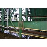 65' ALL STEEL WASTE COVNEYOR W/LADDER BACK CHAIN W/DRIVE