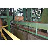 70' ALL STEEL WASTE CONVEYOR W/ LADDER BACK CHAIN W DRIVE