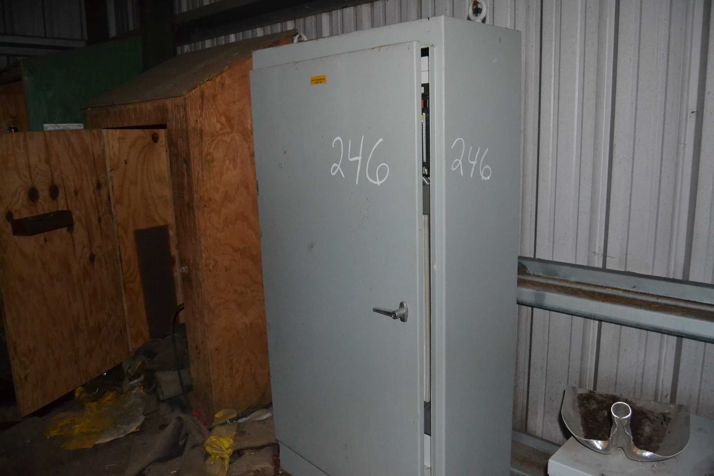 Lot 246 - PLC CONTROL BOX W/ ACME 37.5 KVA TRANSFORMER W/ PANEL BOARD