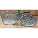 Lot 13 - 9 X BEAUTIFULLY MIRRORED J.QUEEN LUXURY SOAP DISHES