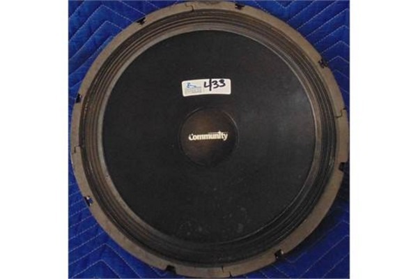 Lot 10 - EMINENCE HIGH END SINGLE SPEAKER