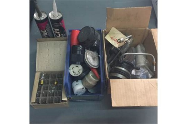 Lot 17 - LOT OF MISC BRAND NEW INDUSTRIAL PARTS CONTENTS OF PHOTO INCLUDED 95% OF THE ITEMS ARE BRAND NEW