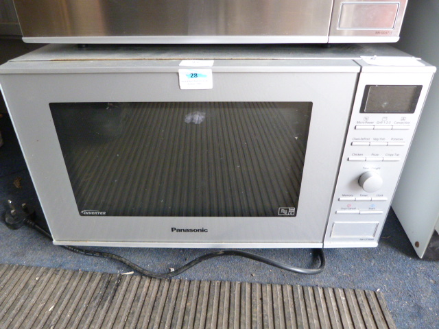 Lot 27 - *Panasonic Combination Microwave
