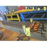 LOT OF BAR CLAMPS (10), 70""