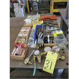 LOT OF WELDING SUPPLIES, assorted