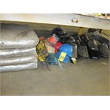 LOT CONSISTING OF: safety equipment & misc. (located under one bench)