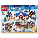 LEGO WINTER VILLAGE: An original Lego Winter Village ' Market ' 10235 set. Factory sealed, unused.