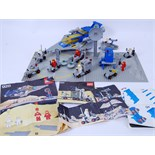 LEGO SPACE: A good collection of vintage 1980's Legoland Space sets and accessories, all loose,