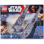 LEGO STAR WARS: Lego Star Wars set 75104 'Kylo Ren's command shuttle'.
