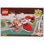 LEGO ADVENTURERS: A vintage Lego Adventurers set 5935 'Dino Island Hopper'.