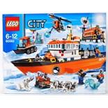 LEGO CITY: An original Lego City set 60062 Arctic Ice Breaker. Factory sealed, unused. As new.
