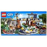 LEGO CITY: A Lego City set 60069 ' Swamp Police Station ' set. Factory sealed, unused.