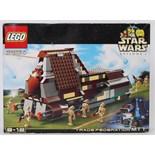 LEGO STAR WARS: A vintage Lego Star Wars 7184 set 'Trade Federation MTT'.