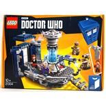 LEGO IDEAS: A Lego Ideas Doctor Who set 21304 'The Tardis'.