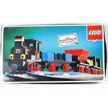 LEGO TRAIN: A vintage 1970's Lego 171 Trainset. Within the original box. Contents unchecked.
