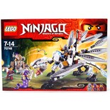 LEGO NINJAGO: A Lego Ninjago set 70748 'Titanium Dragon'.
