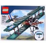 LEGO PLANE: An original Lego 10226 set ' Sopwith Camel ' plane.