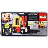 LEGO TECHNICS: An original vintage Lego Technics 8843 Forklift set. Within the original box.