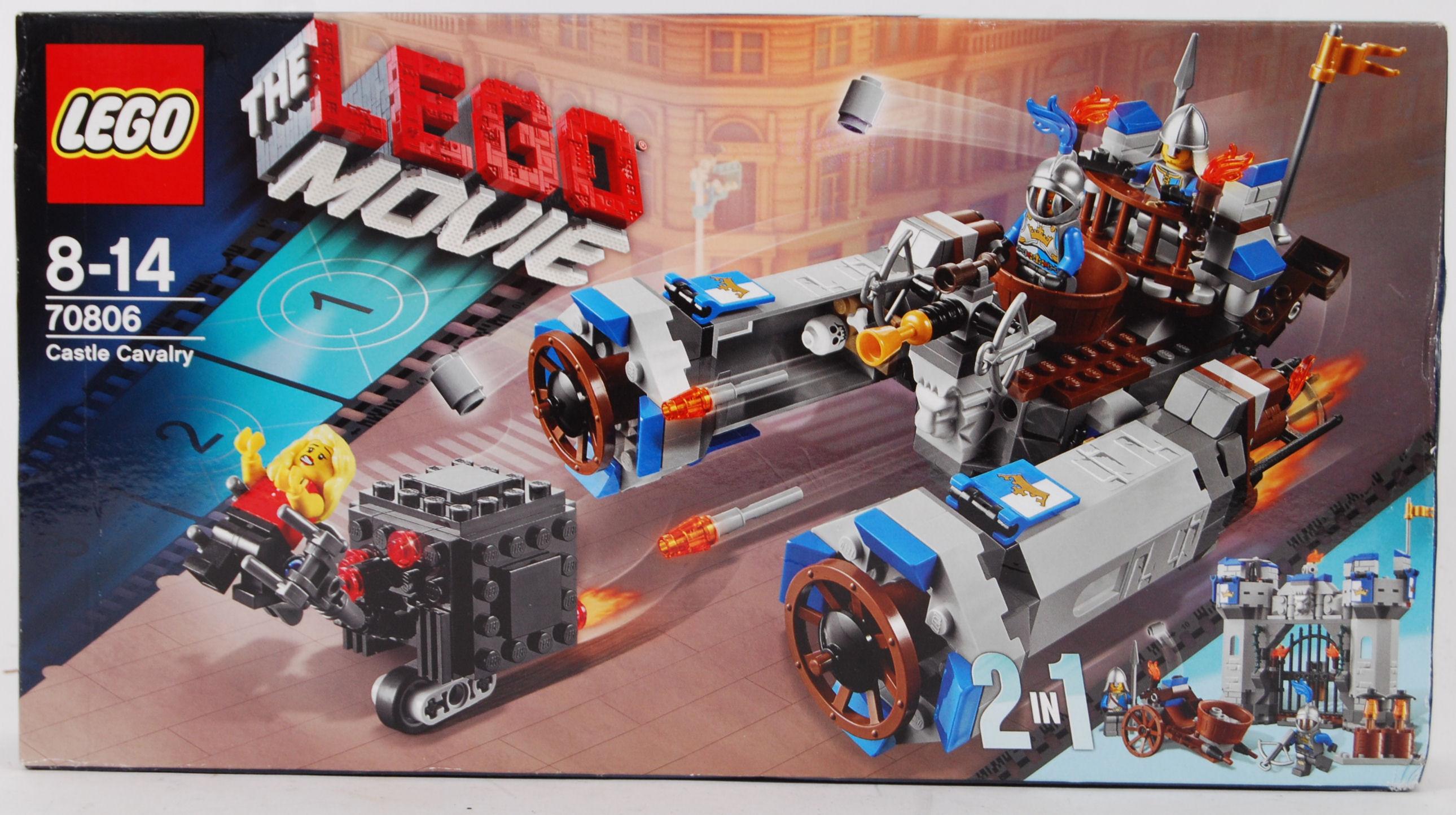Lego Movie A Lego Movie Set Castle Cavalry 70806 Factory Sealed Unused Within The Original B