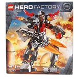 LEGO HERO FACTORY: A Lego Hero Factory 'Fire Lord' set 2235.