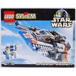 LEGO STAR WARS: A vintage Lego Star Wars set 7130 'Snowspeeder'.