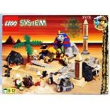 LEGO SYSTEM ADVENTURERS: A vintage Lego System set 'Sphinx Secret Surprise' 5978.