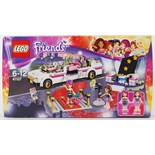 LEGO FRIENDS: A Lego Friends set 41107 'Pop Star Limo'. Factory sealed, unopened.