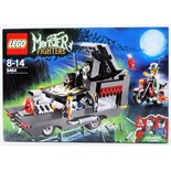 LEGO MONSTER FIGHTERS: A Lego Monster Fighters set 9464 'Vampyre Hearse'.