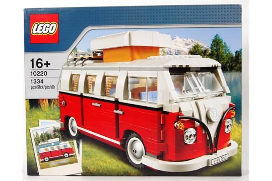 Lego Vw Camper An Original Lego Volkswagen Camper Van Boxed Set No