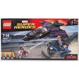 LEGO SUPER HEROES; A Lego DC Super Heroes 76047 ' Black Panther Pursuit ' set.