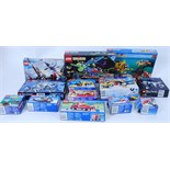 LEGO: A collection of 13x original mostly vintage EMPTY Lego boxes - set numbers; 6555, 6537, 6670,