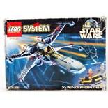 LEGO SYSTEM STAR WARS: A vintage Lego Star Wars set 7140.