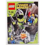 LEGO POWER MINERS: A Lego Power Minors 'Crystal King' set 8962.