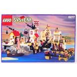 LEGO PIRATES; An original vintage Lego System Pirates 6277 set Imperial Trading Post.