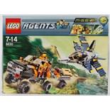 LEGO AGENTS: Lego Agents set 8630 'Gold Hunt'.