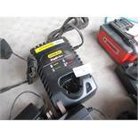 Stanley Fat Max 10.8V charger, unchecked