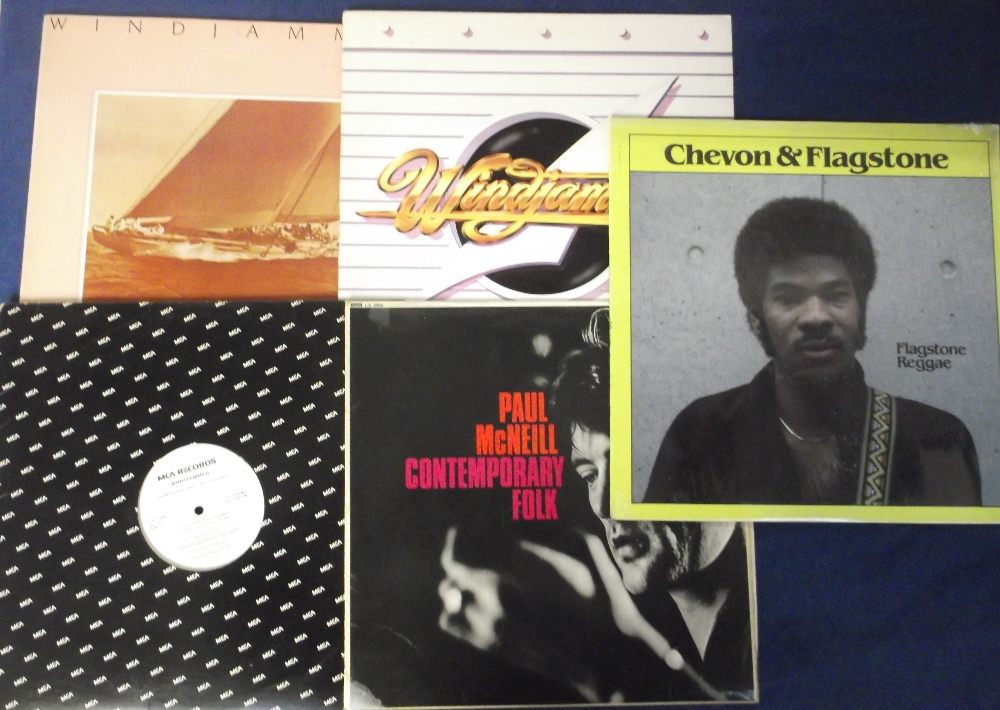 """Lot 42 - Vinyl Records, 70+ albums and 12"""" singles, to include demo discs, various genres to include folk,"""